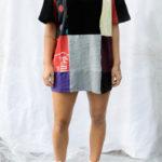 T-shirt patchwork