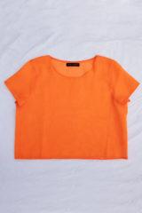 Crop top orange
