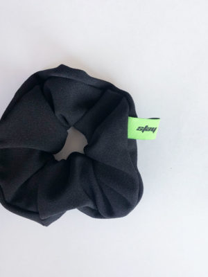Scrunchie noir