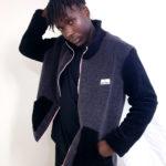 veste noir/ grise sherpa